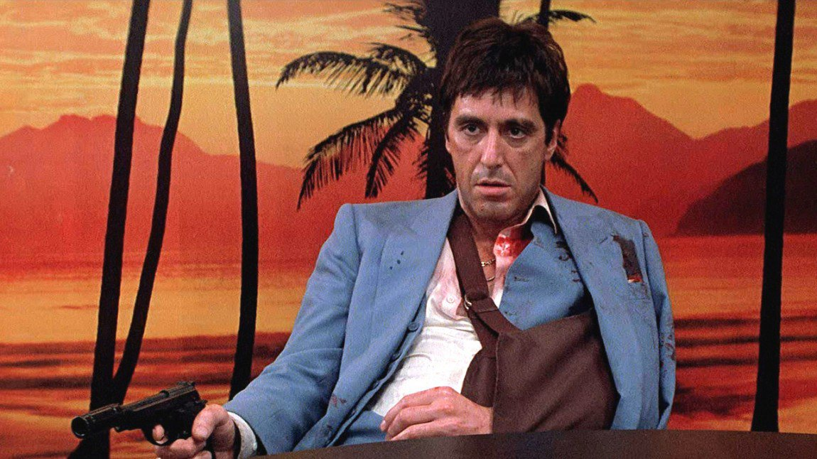 Le Deblocnot': SCARFACE de Brian de Palma (1983) par Luc B. Al Pacino Scarface