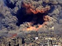 Saudi, Mesir dan Israel Bekerja Sama Dalam Serangan Gaza