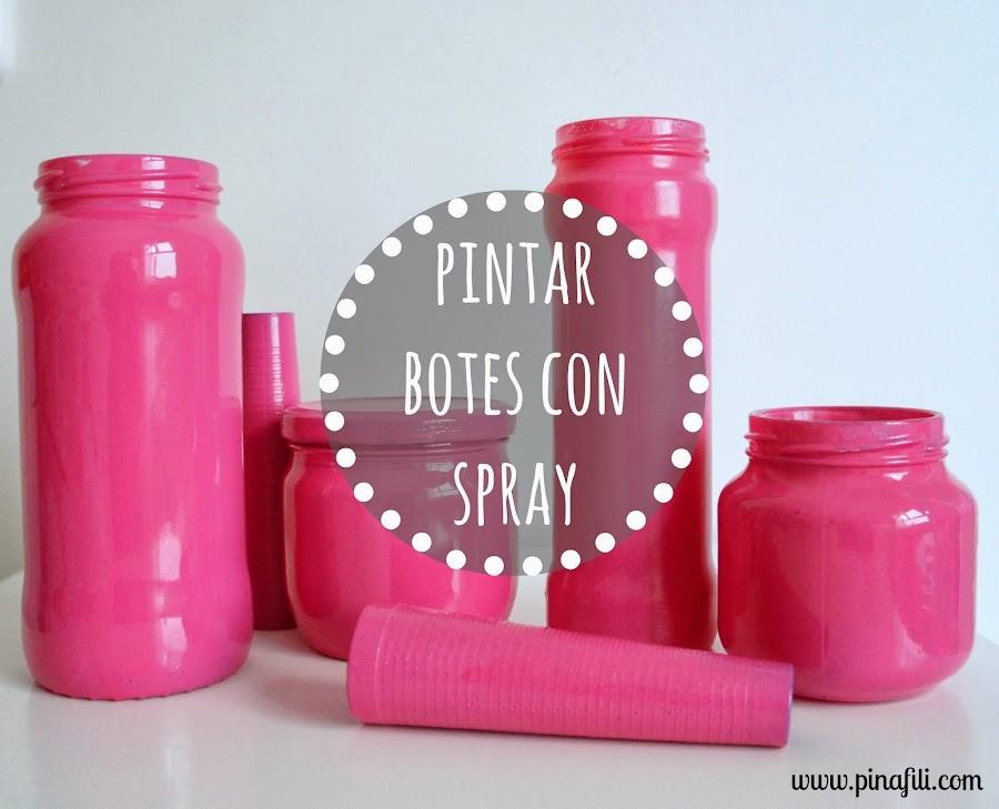 5 ideas para decorar con botes decoraci n - Como pintar botellas de plastico ...