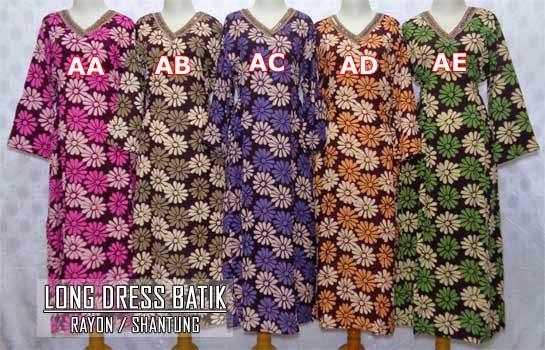 grosir-long-dress-batik-pekalongan-murah