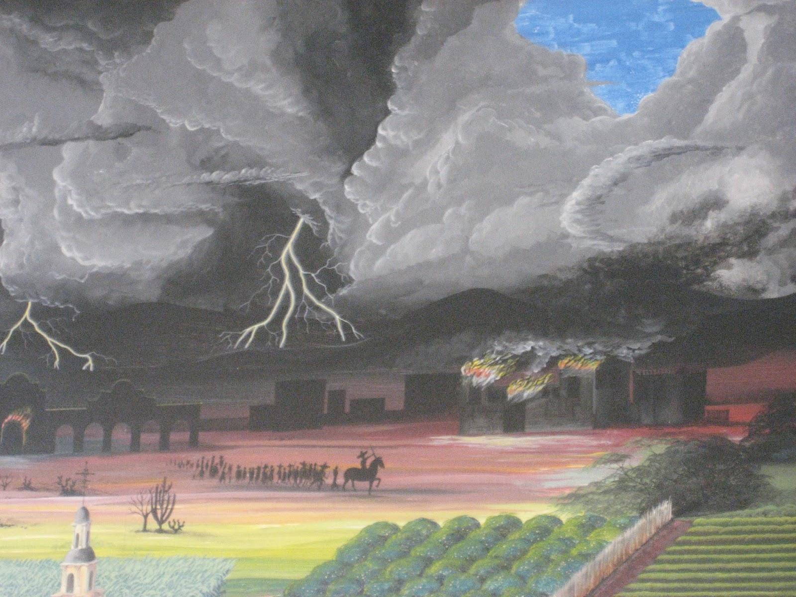 Mural que se encuentra en la escuela preparatoria de for Mural prepa 1 uaemex