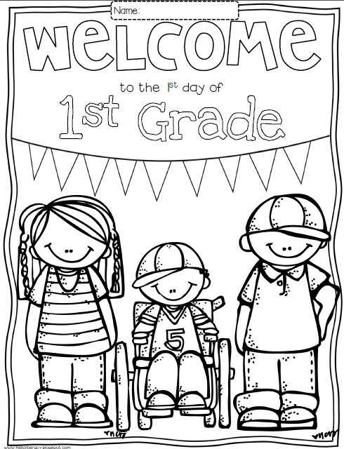 August 2013 hello literacy blog for Constitution day coloring pages first grade