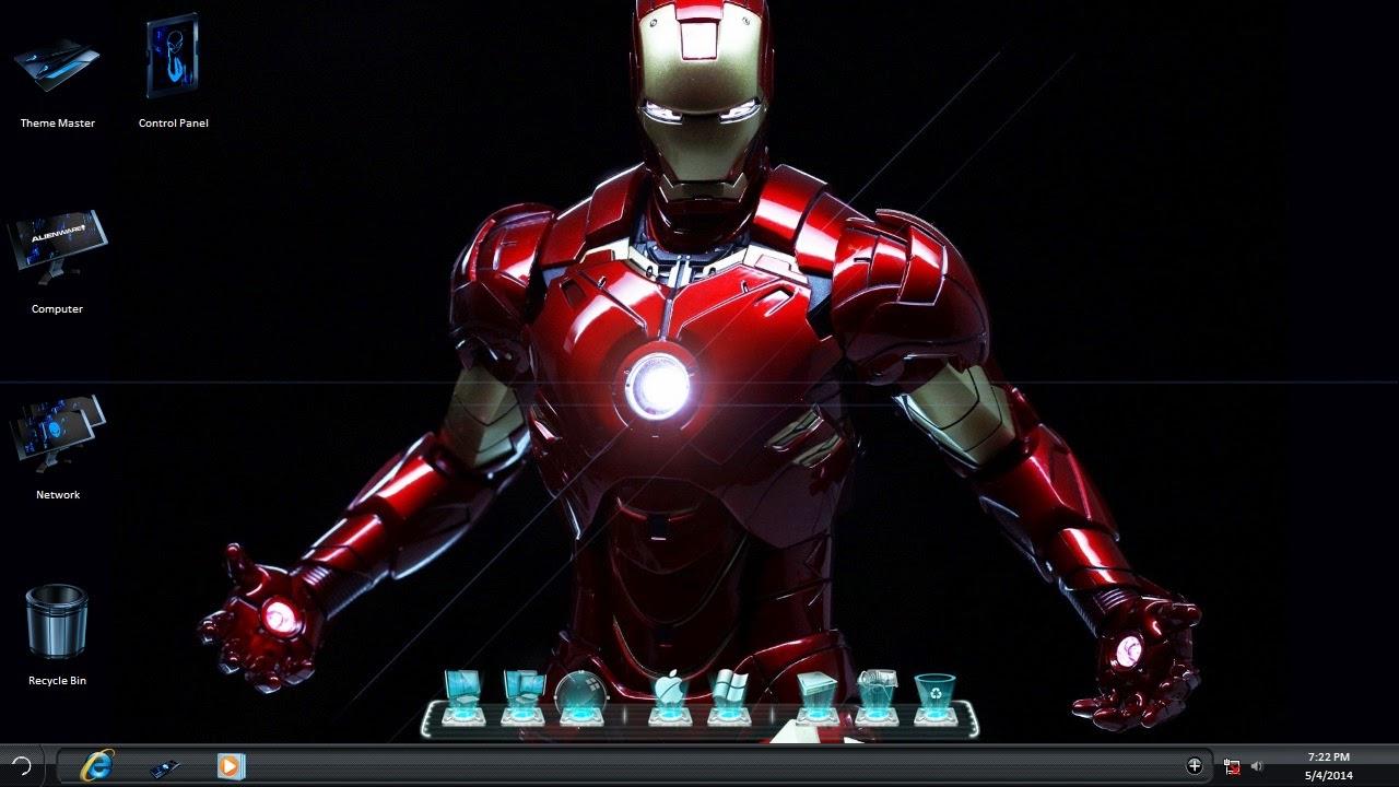 Download Iron Man 3 Windows 8.1 Theme