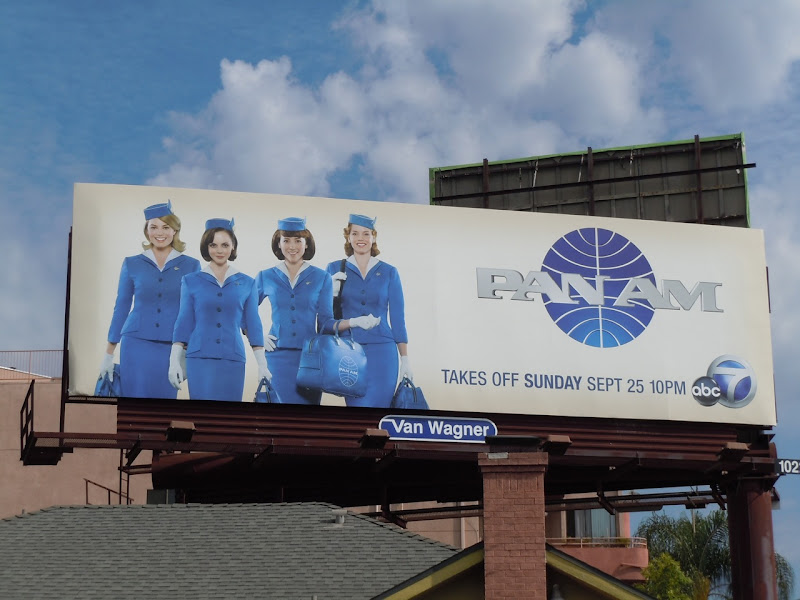 Pan Am TV billboard