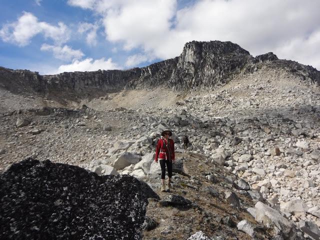 Mt. Aragorn summit in background, Tolkien Group, BC