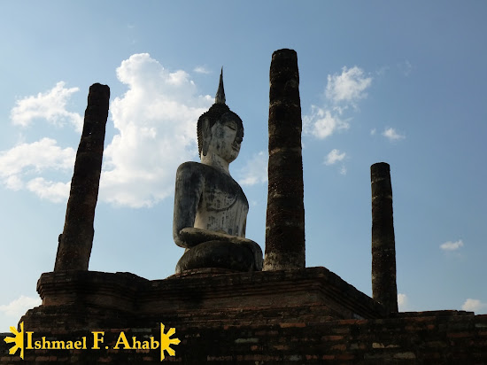Buddha statues in Sukhothai Historical Park