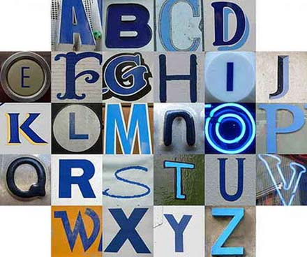 Digital 3D Graffiti Alphabet