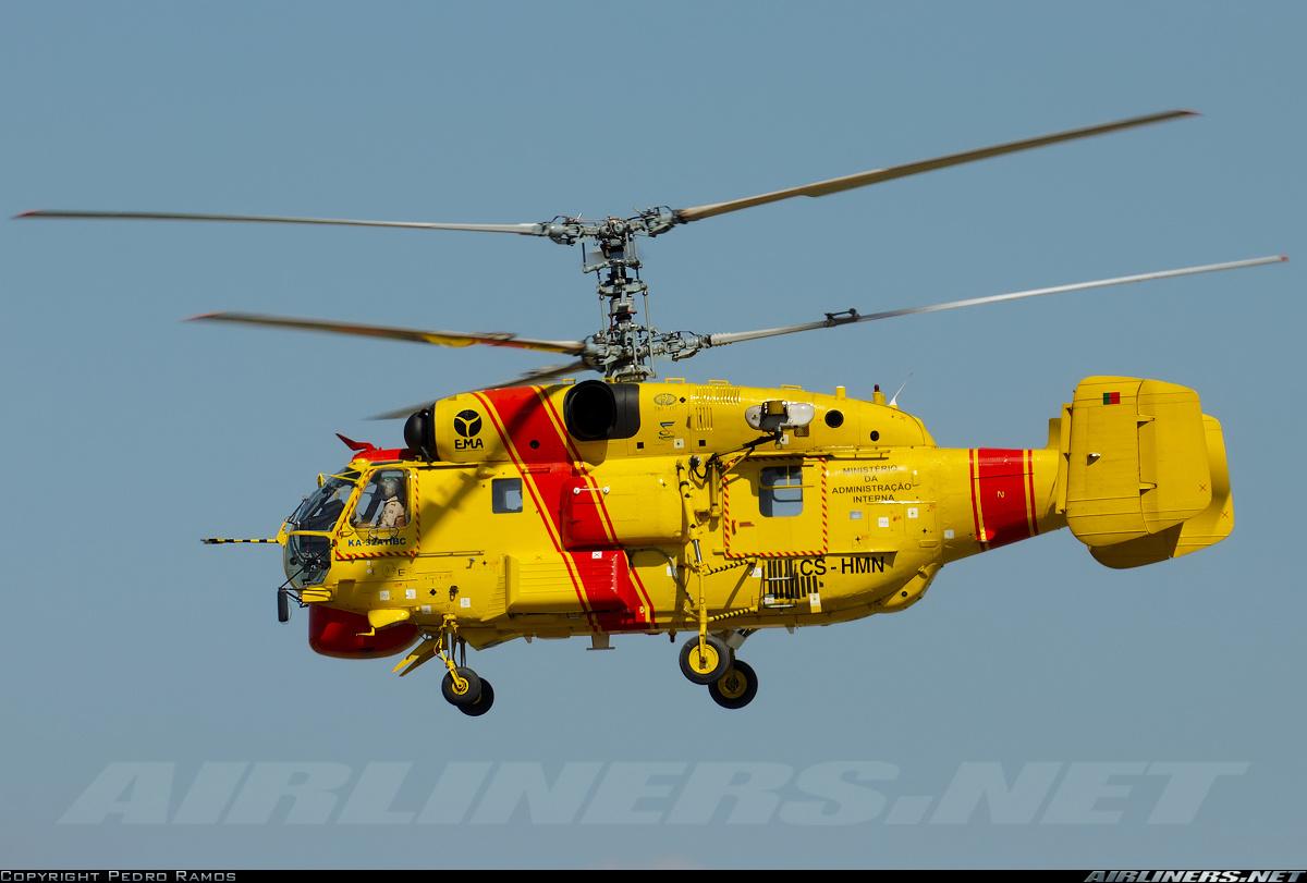 Elicottero Kamov : Governo garante que três helicópteros kamov podem combater