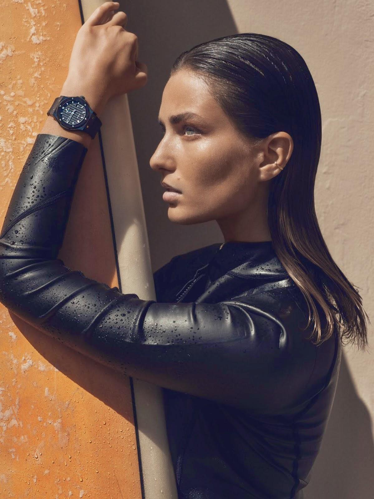 Smartologie Andreea Diaconu For Vogue Paris April 2015