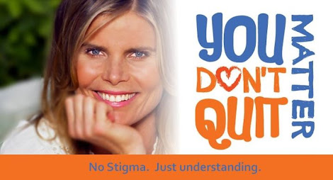 Mariel Hemingway's campaign to help bring awareness to mental health and suicide