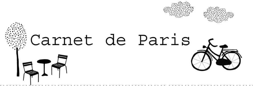 carnet de Paris