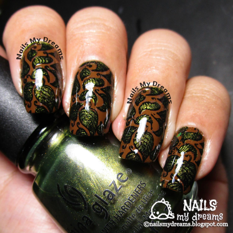 leaves nail art born pretty store bp 19