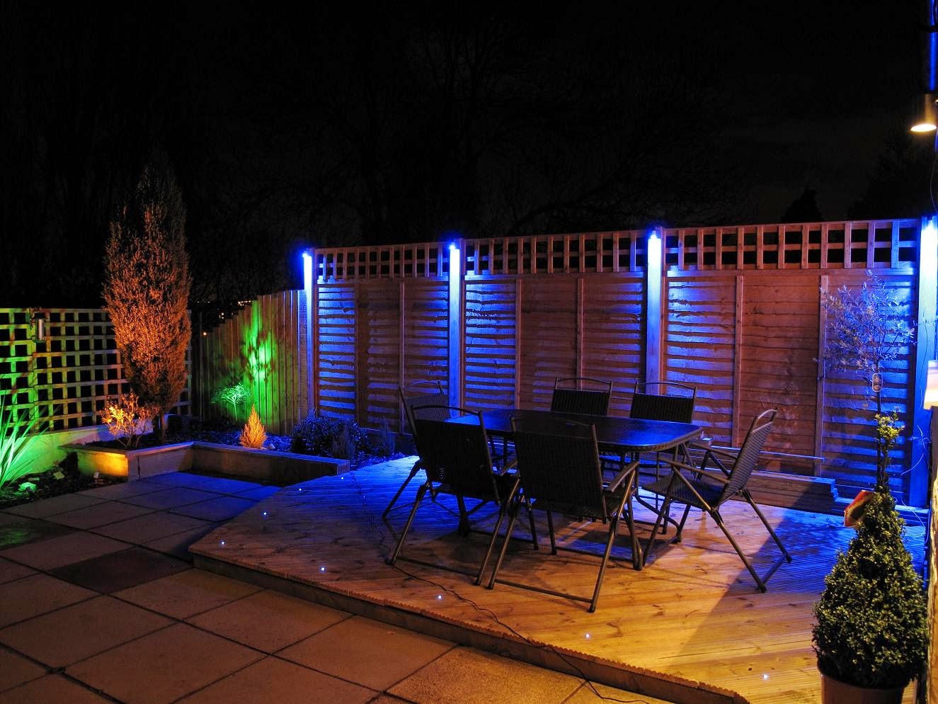 Modern Garden Lighting Modern garden design ideas great lighting