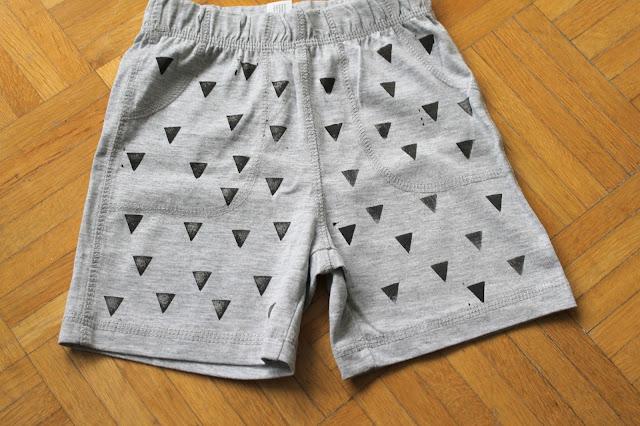 DIY Kinderbekleidung Geometrie