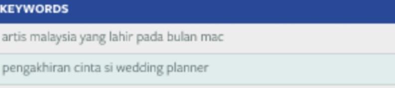 Pengakhiran Cinta Si Wedding Planner?