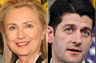 Hillary Clinton and Paul Ryan lead the polls in Iowa