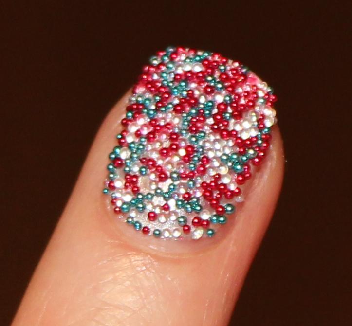 Ciate Bead Nails: Ciate Jubilee Caviar Manicure