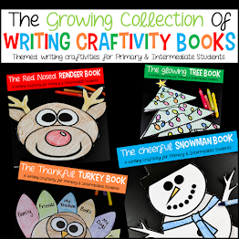 Writing Craftivity Books