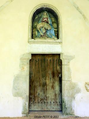 DOMGERMAIN (54) - La chapelle Saint-Maurice - Pietà