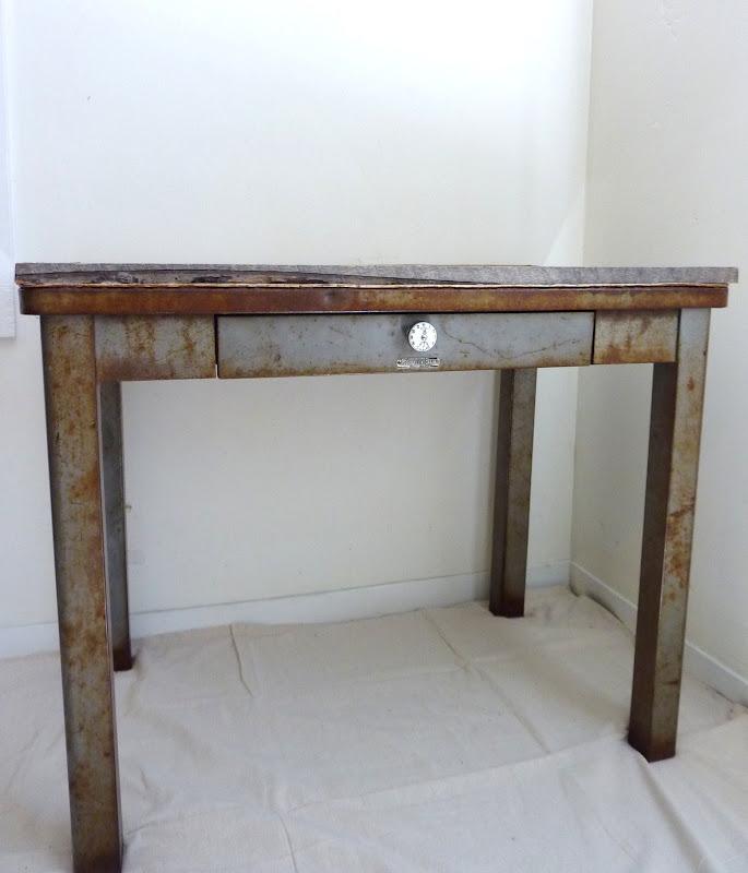 Walrus Rustic Metal And Wood Table SOLD On Craigslist