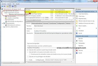 VBA: ejecutar una macro de Excel de un Libro cerrado - el programador de tareas de Windows.