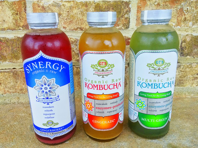 a few things about kombucha