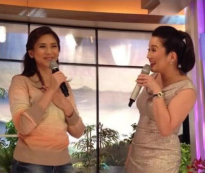 Sarah Geronimo surprise visit on Kris TV with Kris Aquino, September 19