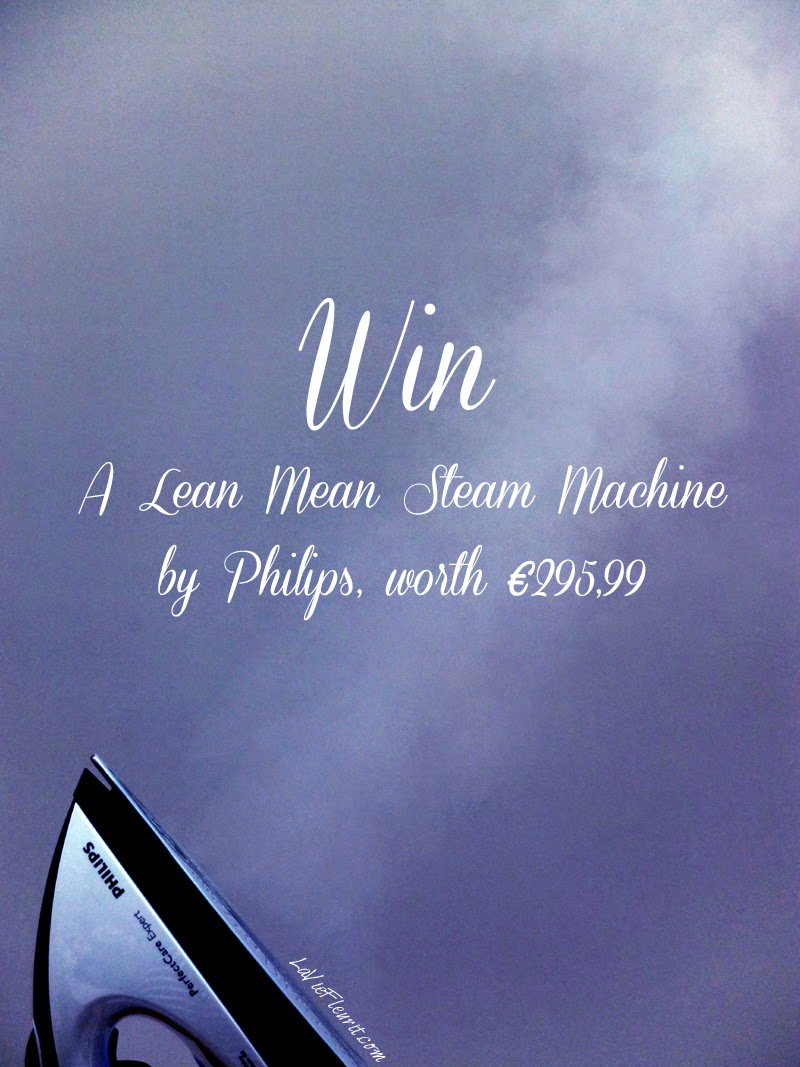 Win a steam generator by Philips, give away, winactie, stoom generator, lifestyle, fashion, blog, klednig, clothing, mode, home, interior, interieur, musthave, LaVieFleurit.com, Fleur Feijen
