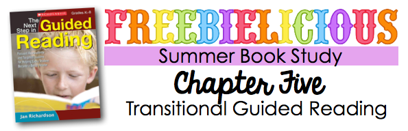 Summer Book Study: Transitional Guided Reading