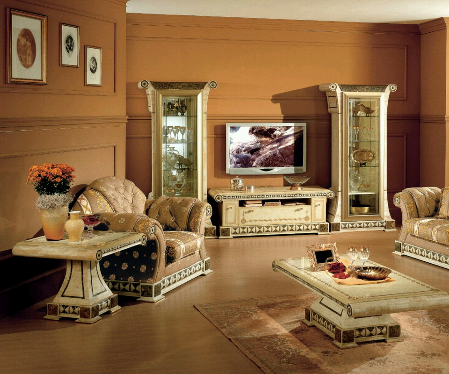 Modern living room designs ideas new home designs for Pics of living rooms