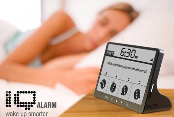 Alarm Terunik di Dunia - IQ Alarm Clock