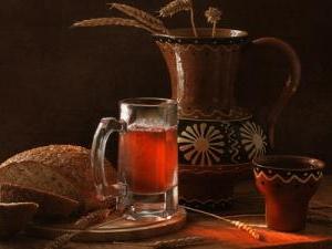 Что на Руси называли пивом и водкой.