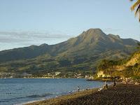 Monte Pelée en Martinica