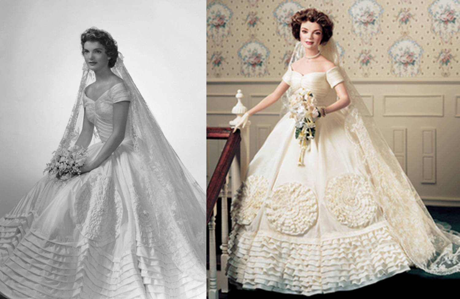 Wedding dresses kennedy for Jackie kennedy wedding dress