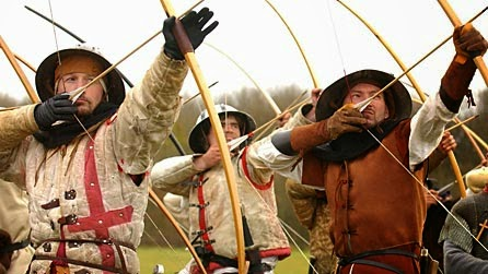 how to make a medieval longbow and arrow