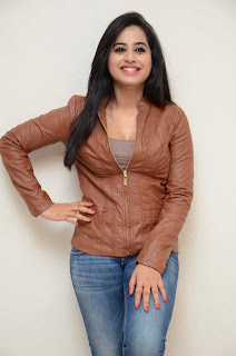 Swathi Dixit in Jeans and Jacket at Ladies and Gentleman Press MEet