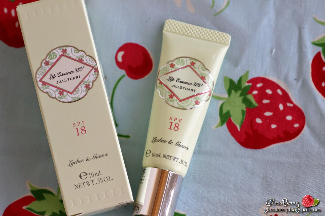 jill stuart lychee guava essence lip uv and jelly color eye N review swatches beauty blog