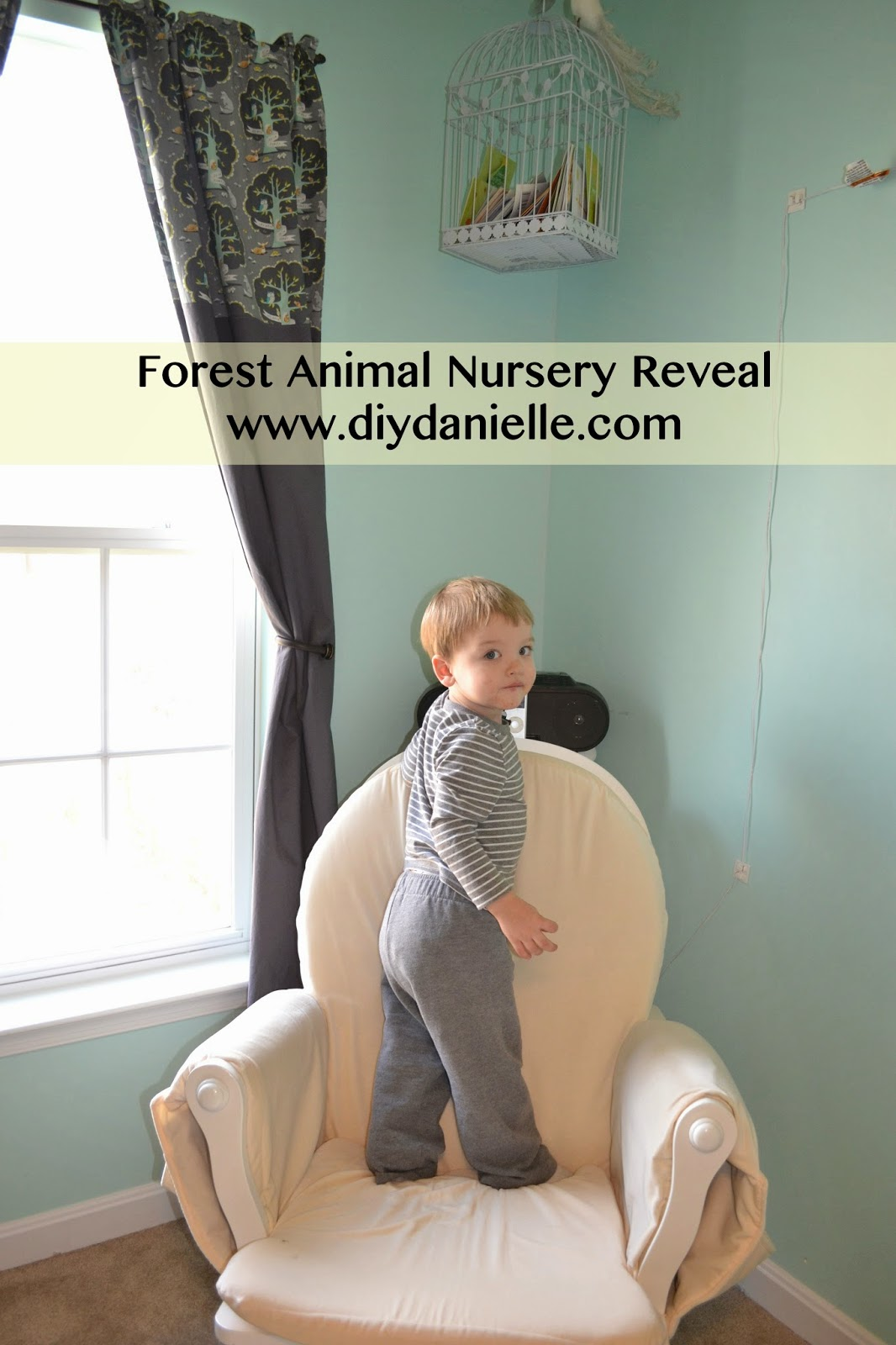 diy nursery makeover final reveal