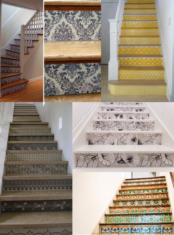 decoracao de paredes de escadas interiores:Amanda Rizzato: Escadas