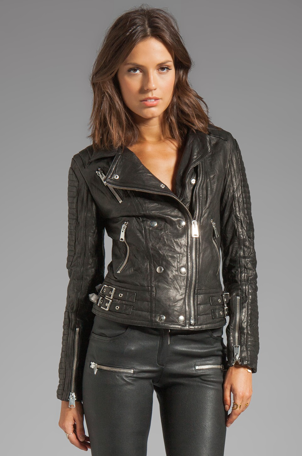 Leather motorcycle jackets for women fashion 70