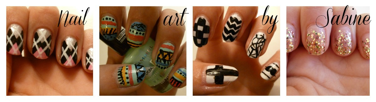 Nail art by Sabine