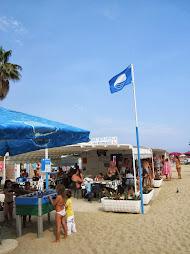 Sanremo .. Spiaggia Arenella Bandiera Blu 2013