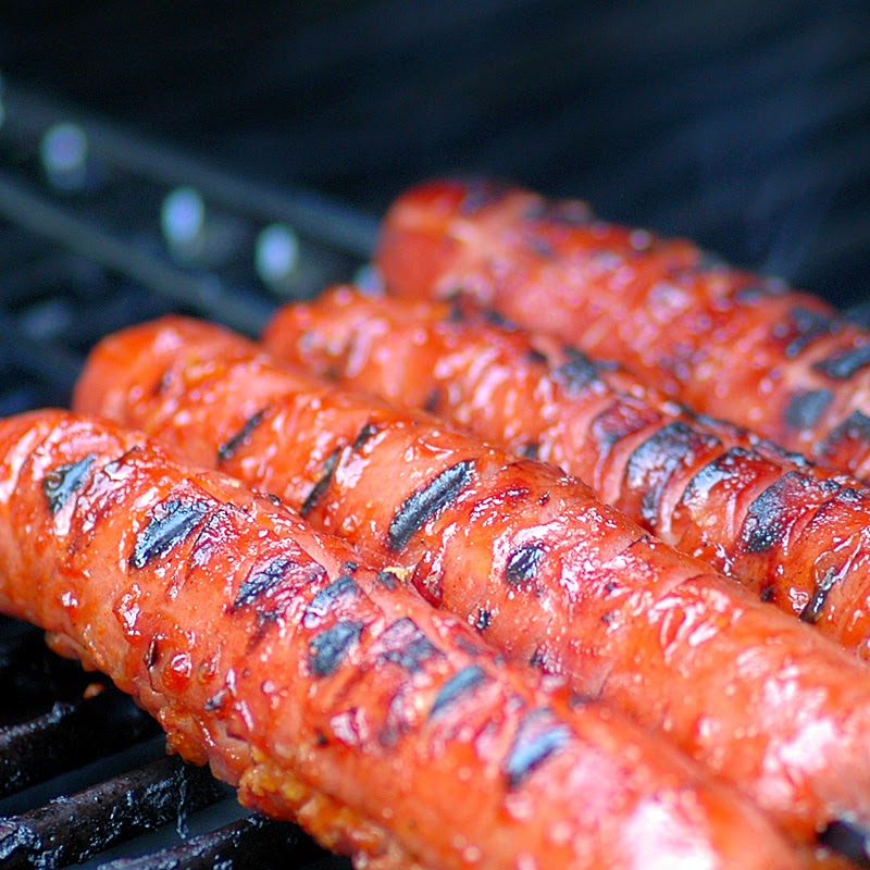 Gourmet Grilled Hot Dogs!