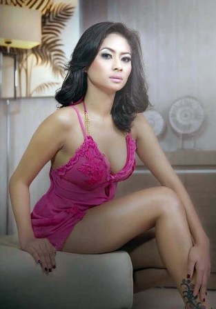 Anggie Natha, Model Lights On Majalah MALE Mata Lelaki Edisi 035