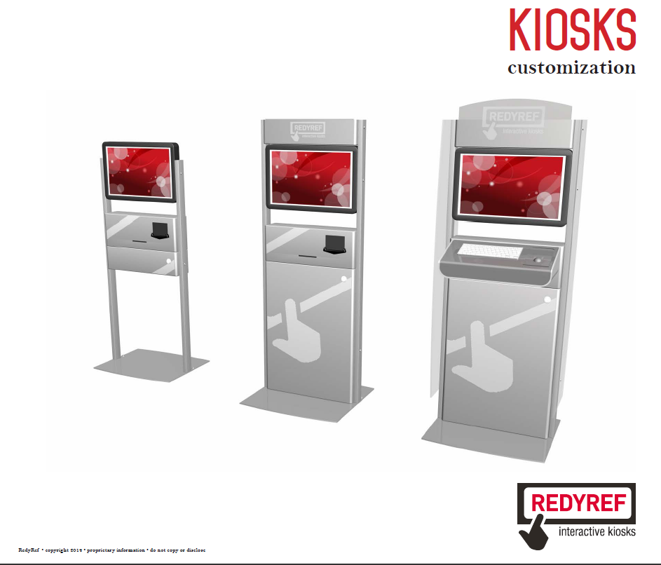 Turnkey kiosk design process redyref for Architecture kiosk design