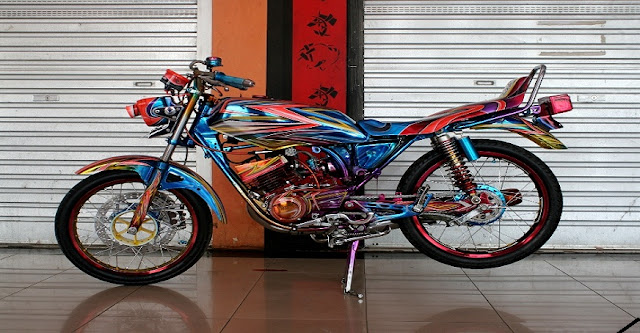 Modifikasi Motor RX-King