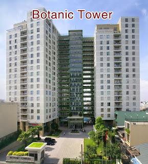 Cho thuê chung cư Botanic Tower quận Phú Nhuận 2 phòng ngủ