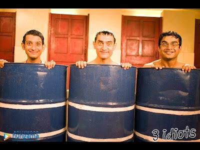 Three Idiots: Raju, Rancho and Farhan