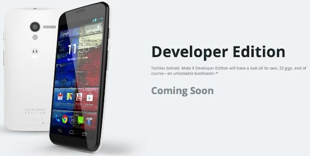 Motorola vai lançar versão Developer Edition do Moto X