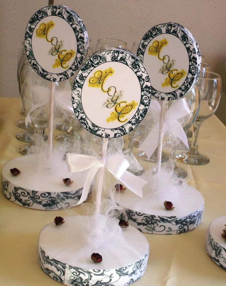 Eventos para tu beb centros de mesa para matrimonio con - Centros de boda ...